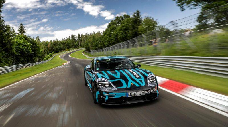Porsche Destroys EV Nurburgring Lap Record!